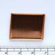 0047200 Kotlík plné dno obdélník, 32x24mm
